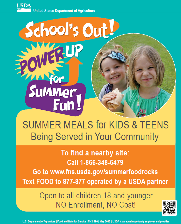 Find Free Meals for Kids in the Summer